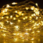 Warm White Battery Powered 100LEDs Copper Wire Xmas Party St