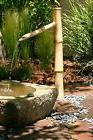 Bamboo Accents Tall Water Fountain Spout, Complete Kit inclu