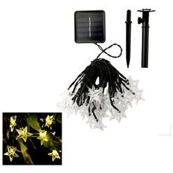 Waterproof 30 LED Solar Star Powered Outdoor String Lights f