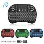 2.4G Mini i8 Backlit Wireless Keyboard Mouse Touchpad For PC