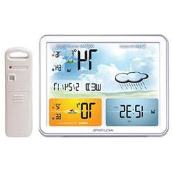 AcuRite 02081M Weather Station with Jumbo Display Atomic Clo