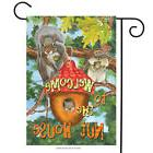 Welcome to the Nut House Summer Garden Flag Humor Squirrels