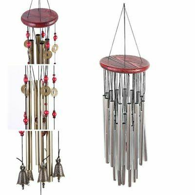 Decorative Hanging Tubes Bells Yard Garden Ornaments