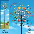 Wind Spinners For The Garden Outdoor Metal Yard Whimsical Wh