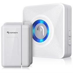 Fosmon Wireless Door Open Chime with 1 Receiver + 2 Door Sen