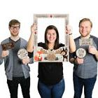 Woodland Creatures - Party Photo Booth Picture Frame & Props