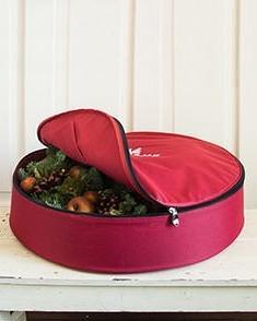 "Balsam Hill 30"" Small Wreath Storage Bag"