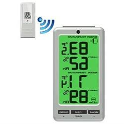Ambient Weather WS-23 Big Digit 8 Channel Wireless Thermo-Hy