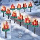 Yard Christmas Lights Gift Decorations Outdoor Lamp Posts Pa