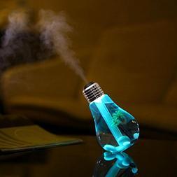Highpot Lamp Shape Decorative Lights USB Air 7 Colour Diffus