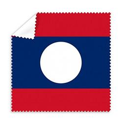Laos National Flag Asia Country Symbol Mark Pattern Glasses