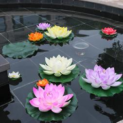 Large Lotus Water Lily Floating Flower Pond Fish Tank Plant
