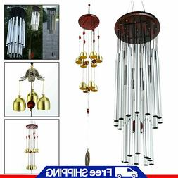Large Wind Chimes Bells Copper 27 Tubes Outdoor Yard Garden