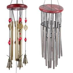 Large Wind Chimes Bells Copper Ornament Windbell Gift Yard G