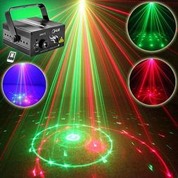 NEW SUNY Laser Light Red Green 12 Pattern Gobos Show Party D