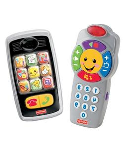Fisher-Price Laugh & Learn Remote and Smilin' Smartphone Bun