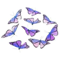 "LAVENDER MONARCH BUTTERFLY GARLAND 5x78""H"