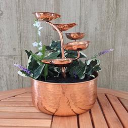 Leaf Copper Fountain