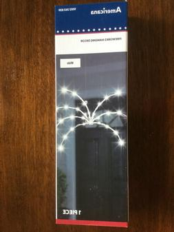 Americana LED 4th of July Fireworks Patriotic Hanging Light
