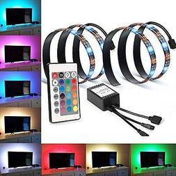LED Strip Light Home Theater TV Backlight Accent Lighting Ki