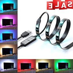 LED Home Theater TV BackLight Accent Back Lighting Kit Bias