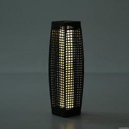 LED Lamp Standing Floor Light Solar Powered Décor Patio Yar