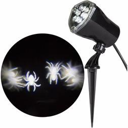 GEMMY LED LIGHTSHOW WHIRL A MOTION SPIDER NEW PROJECTION HAL