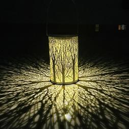LED Solar Lantern Retro Hanging Outdoor Waterproof Solar Lig