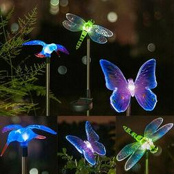 Garden Butterfly Birds LED Solar Powered Lights Outdoor Yard