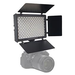 Mcoplus LED340B Bi-Color CRI95+ Ultra-thin On-camera Video L