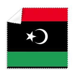 Libya National Flag Africa Country Symbol Mark Pattern Glass