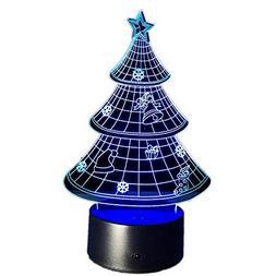 Naladoo Light Decoration 3D Artificial Christmas Tree Stand