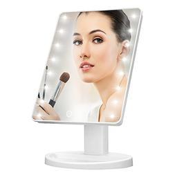Makeup Mirror with Lights,Charminer 16 LED Lighted Makeup Mi