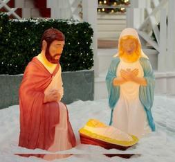 Light Up Nativity Scene Decorations  from images.yarddecor.org