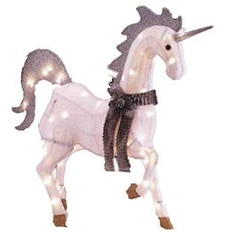 Light-Up Unicorn, Magical Indoor/Outdoor Holiday Lawn Decora