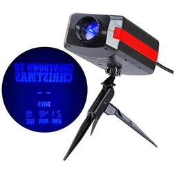 Gemmy LED LightShow Countdown to Christmas Projector, 99 day