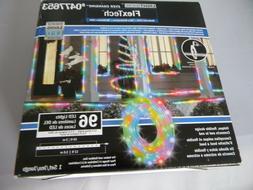 Gemmy LightShow FlexTech  Christmas Lights Multicolor 96 LED