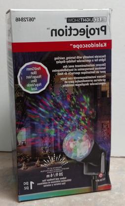 Gemmy LED Lightshow Projection Kaleidoscope Turning Multicol