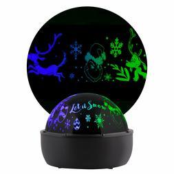 Gemmy Lightshow Projection Tabletop Lights Grinch Indoor Chr