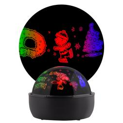 Gemmy Lightshow Projection Tabletop Lights Peanuts Indoor Ch