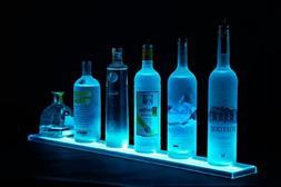3' LED Liquor Bottle Shelf - Made in the U.S.A. LED Lighted
