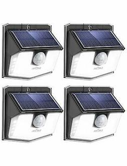 LITOM Lite 30 LED Solar Lights Outdoor, Wireless Easy to Ins