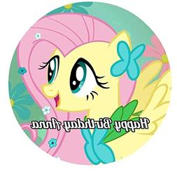 My Little Pony Round Edible Image Photo Cake Topper Sheet Pe