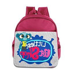 Littlest Pet Shop 2 Baby Lightweight Bookbag Pink