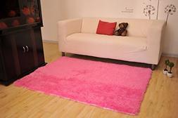 Living Room Rug, CWKTITI Super Soft Indoor Modern Shag Area