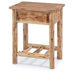 CASTLECREEK Log End Table