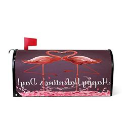 Love Valentine Day Magnetic Mailbox Cover MailWraps, Flaming