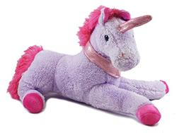 Magical Unicorn Purple Valentine's Day Plush - 16""