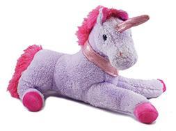 "Magical Unicorn Purple Valentine's Day Plush - 16"""