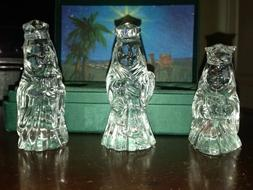 Marquis by Waterford Crystal NATIVITY The 3 Wise Men / King,